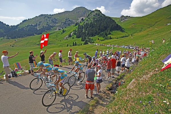 Tour de France bike tour