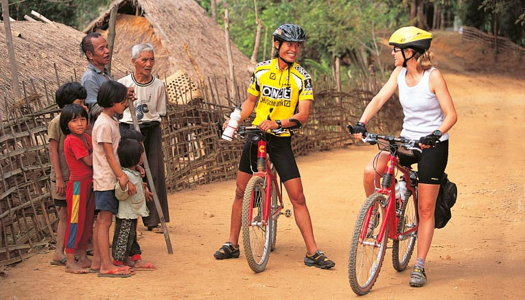 Asia bike tours